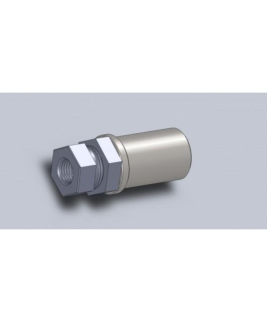 kit canon de réglage tube Ø32x2 pour rotule M18x150
