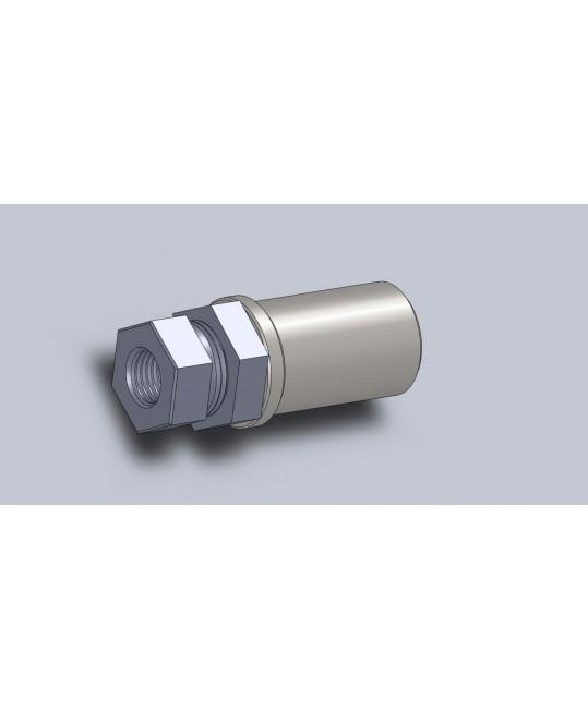 kit canon de réglage tube Ø30x2 pour rotule M14x150