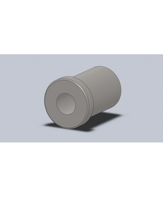 insert fileté M10 pour tube Ø15x1.5
