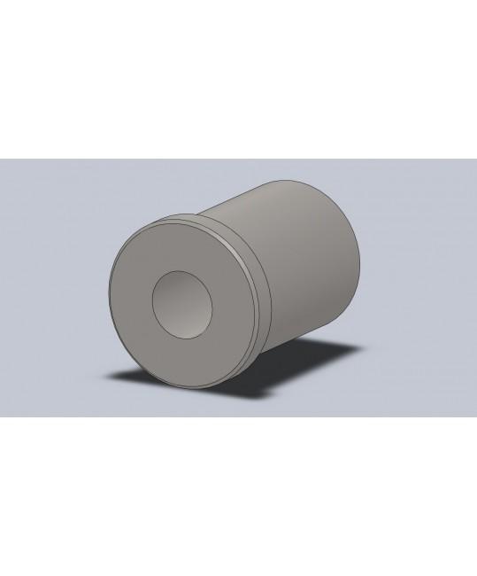 insert fileté M12x150 pour tube Ø25x2
