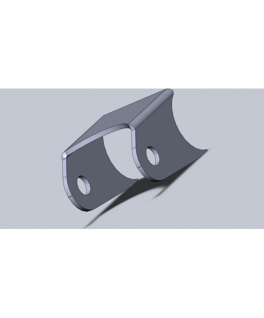 oreille à souder pliée 5 (65x56x43)