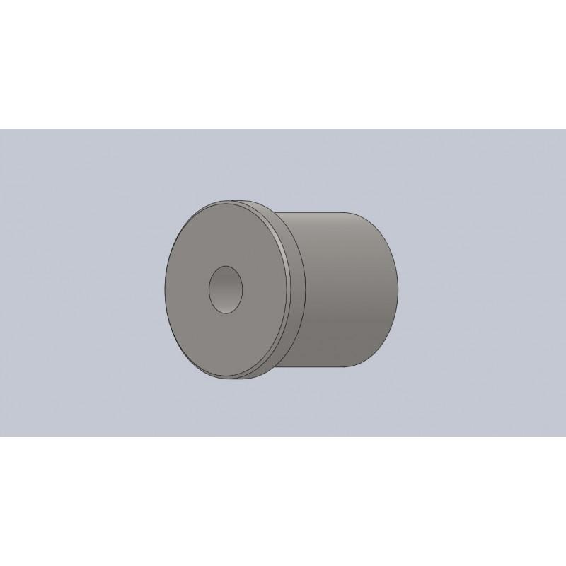 insert fileté M12x150 pour tube Ø30x1.5