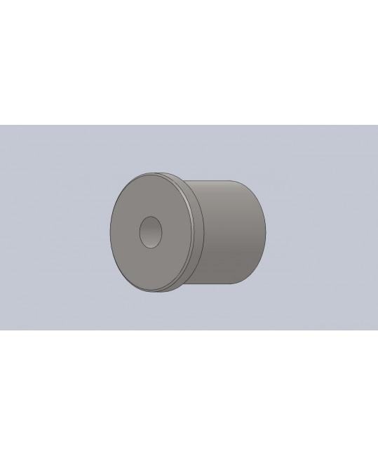 insert fileté M12x150 à gauche pour tube Ø30x1.5