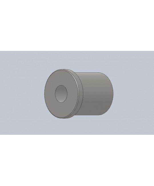 insert fileté M12x150 à gauche pour tube Ø30x2
