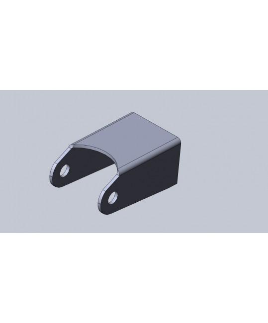 oreille à souder pliée 6 (95x56x43)