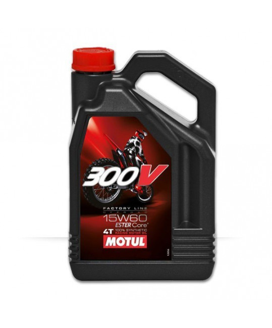 300V factory line Off Road 15w60 - 4 litres
