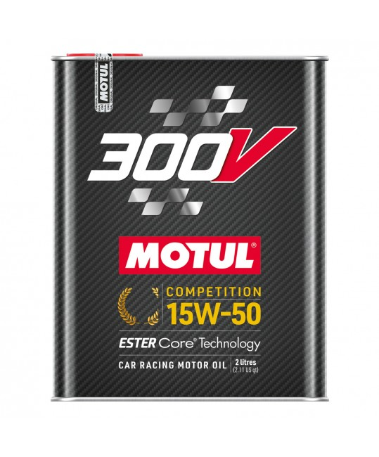 300V competition 15w50 - 2 litres